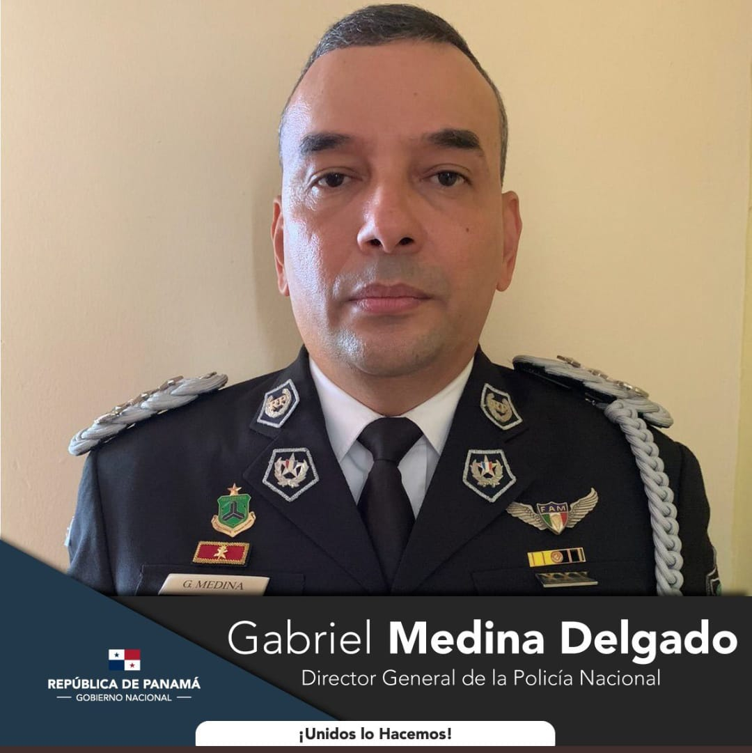Gabriel Medina Delgado, Director General de la Policía Nacional